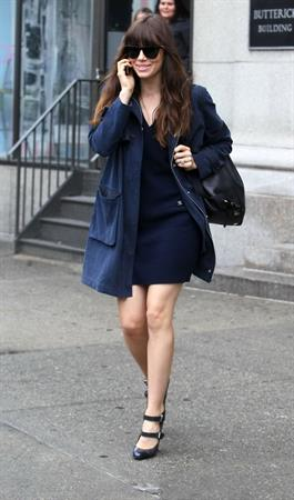 Jessica Biel out about in New York City 09 05 12