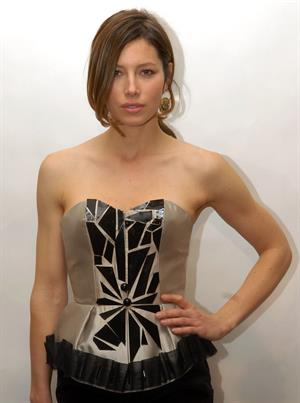 Jessica Biel Victor de Souza Fall 2010 collection - February 17, 2010