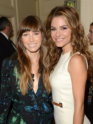 Jessica Biel Variety's 4th Annual Power of Women event in Beverly Hills - October 5, 2012