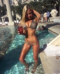 Keilih Stafford in a bikini
