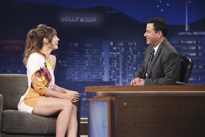 Jessica Biel - Jimmy Kimmel Live - Jul. 26, 2012