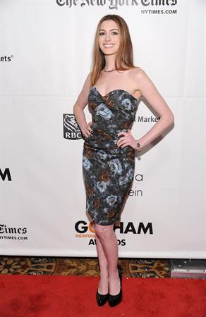 Anne Hathaway IFPS 20th annual Gotham Independent Film Awards November 29, 2010
