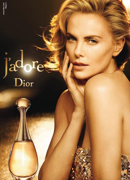 Charlize Theron for J'adore Dior
