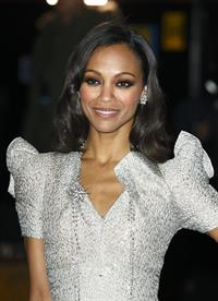 Zoe Saldana at  Avatar  World Premiere in London 10-12-2009