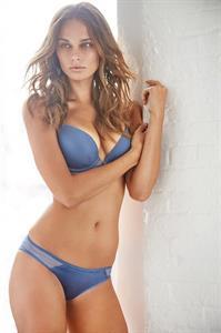 Annie Gustafsson in lingerie