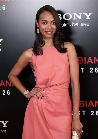 Zoe Saldana  Colombiana  Los Angeles screening - Aug. 24, 2011