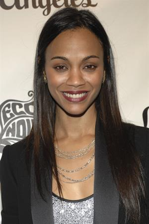 Zoe Saldana - 'An Evening of 20th Century Glamour', 3/19/09