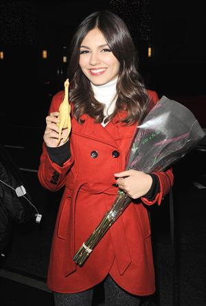Victoria Justice out and about in New York City 11/28/12