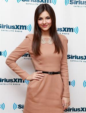 Victoria Justice at Sirius XM Studio in NY 10/22/12