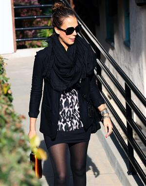 Jessica Alba in Beverly Hills on Feb 17