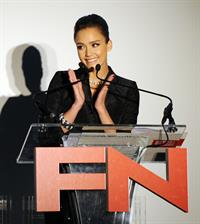 Jessica Alba at Footwear News 24th Annual Achievement Awards in New York City on November 30, 2010