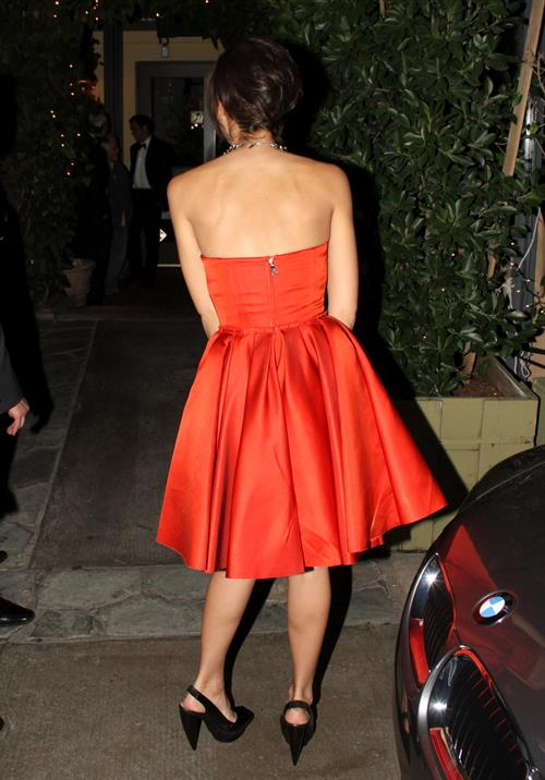 Jessica Alba leaving a party in Beverly Hills on January 16, 2010