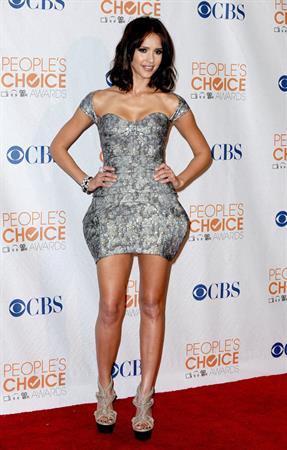 Jessica Alba at the Peoples Choice Awards 2010 held at Nokia Theatre in Los Angeles on January 6, 2010