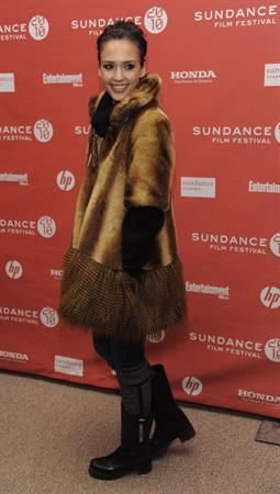 Jessica Alba at The Killer Inside Me premiere on January 24, 2010