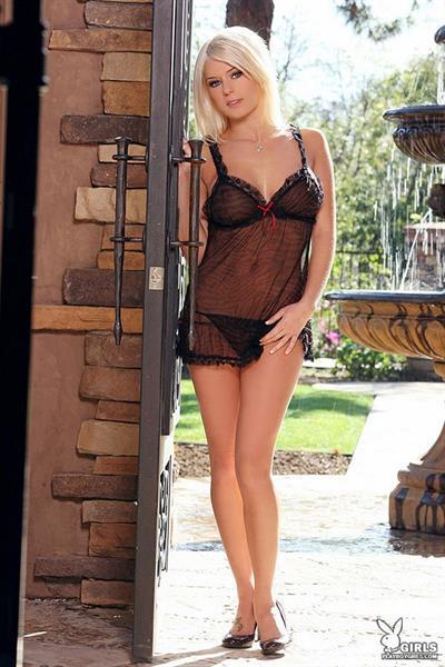 Amber Jay in lingerie
