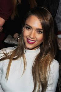 Jessica Alba Valentino F/W 2013 fashion show in Paris 3/5/13