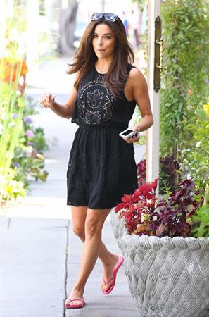 Eva Longoria out in West Hollywood 7/26/13