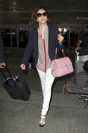 Eva Longoria Arrives at LA Airport in Los Angeles (May 20, 2013)