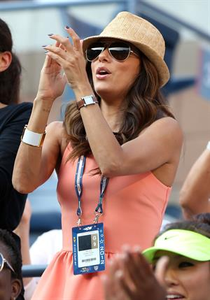 Eva Longoria - US Open in Flushing Meadows 30.08.12