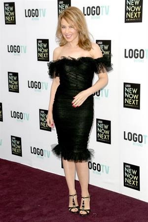 Kylie Minogue Arrives at the Logo NewNowNet Awards 13.04.13