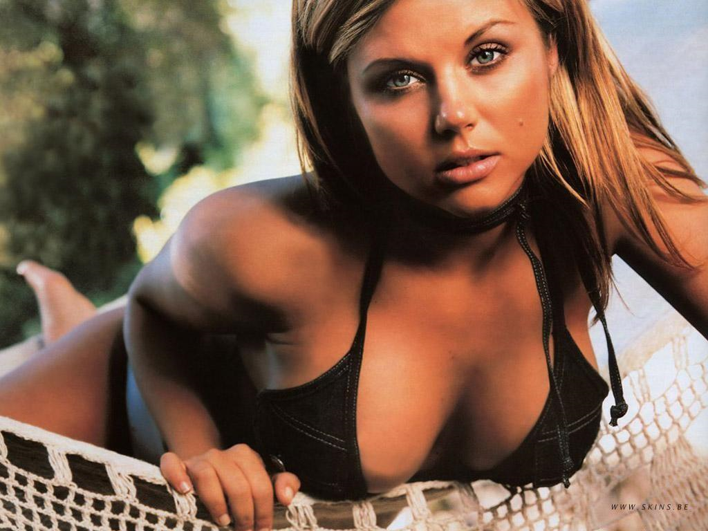 Tiffani Thiessen in a bikini