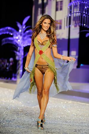 Alessandra Ambrosio Victorias Secret Fashion Show in Miami