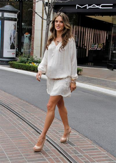Alessandra Ambrosio Philips Satin Perfect Fashion and Beauty Event March 23, 2012