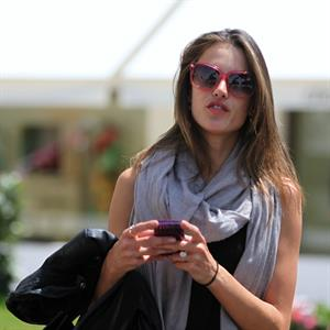 Alessandra Ambrosio shopping in Cannes on May 19, 2011