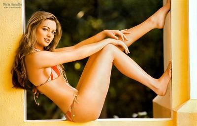 Maria Kanellis in a bikini