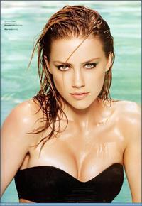 Amber Heard in a bikini