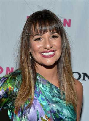 Lea Michele - Nylon September TV Issue Party in Beverly Hills - September 15, 2012