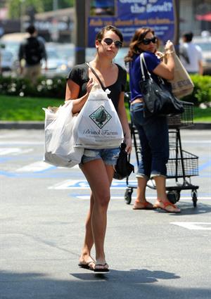 Lea Michele - Hollywood  -  9 June, 2012