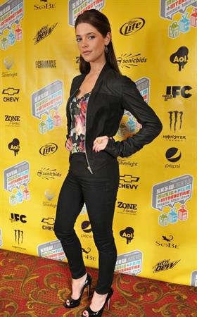 Ashley Greene attending the premiere of her new film Skateland on March 16, 2010