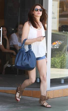 Ashley Greene out and about in Studio City on June 20, 2011