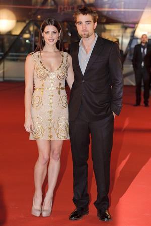 Ashley Greene Twilight Breaking Dawn part 2 Brussels premiere on October 26, 2011