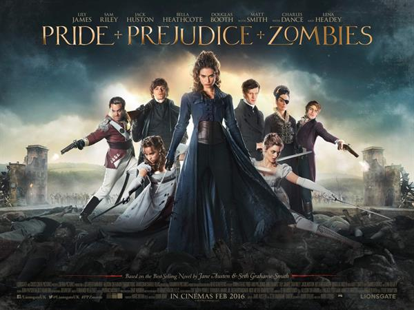 Lily James in Pride and Prejudice and Zombies