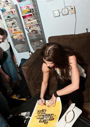 Ashley Greene reversal films day party at wet salon on march 15 2010