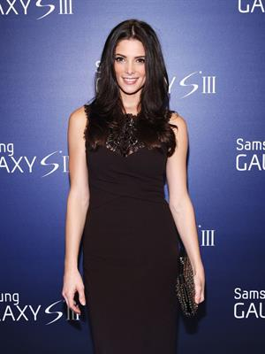 Ashley Greene at the Samsung Galaxy S III launch in New York on July 20, 2012