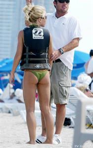 Kendra Wilkinson in a bikini - ass