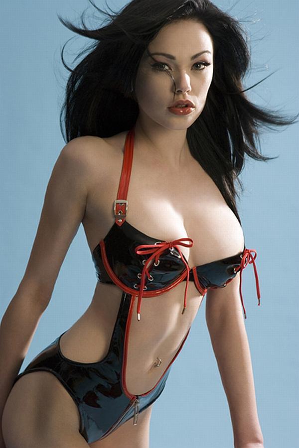 Vikki Blows in lingerie