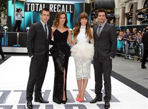Kate Beckinsale London premiere of Total Recall August 16, 2012