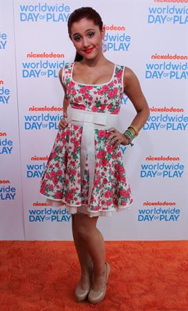 Ariana Grande 8th annual Worldwide Day of Play on September 23, 2011