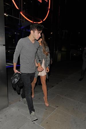 Ariana Grande in London 10/9/13