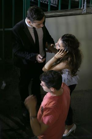 Ariana Grande –  The Wanteds  music video set 9/26/13