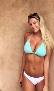 Jadelyn Breier in a bikini