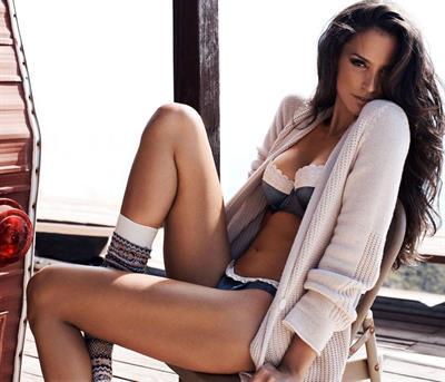 Genesis Rodriguez in lingerie