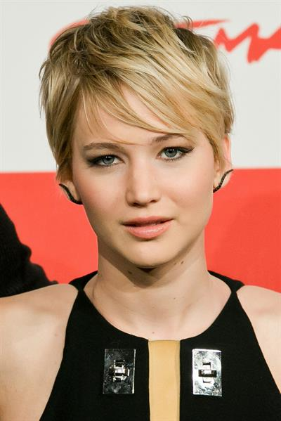 """Jennifer Lawrence """"The Hunger Games: Catching Fire"""" Photocall in Rome, November 14, 2013"""