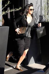 Jennifer Lawrence - leaving a hair salon in LA 2/25/13