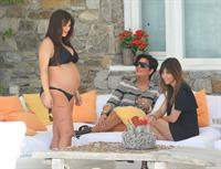 Kim Kardashian On vacation in in Mykonos, Greece (April 26, 2013)