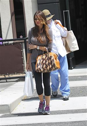 Sofia Vergara goes shopping in Beverly Hills, August 23, 2012